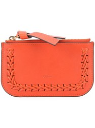 Chloe Hudson Card Holder Women Leather One Size Red