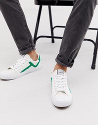 Selected Homme Canvas Trainers White