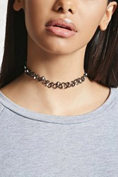 Forever 21 Beaded Tattoo Choker