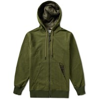 Adidas Consortium Day One Utility Zip Up Hoody Green