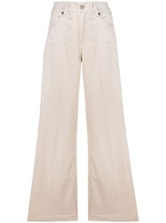 7 For All Mankind Flared Fit Trousers 60