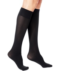 Berkshire Opaque Knee High Trouser Hosiery Black