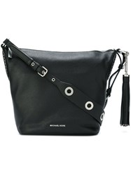 Michael Michael Kors 'Brooklyn' Hobo Bag Black