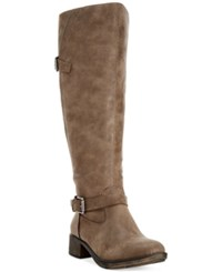 Styleandco. Style And Co. Gayge Riding Boots Only At Macy's Women's Shoes Mushroom