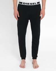 Black Julio Diesel Logo Pyjama Trousers