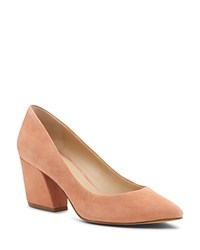Botkier Women's Stella Suede Pumps Soft Peach