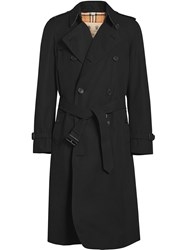 Burberry The Long Chelsea Heritage Trench Coat Black