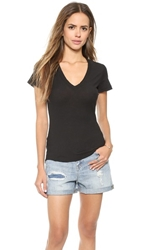 James Perse Casual Tee Black