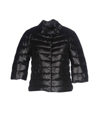 Atos Lombardini Coats And Jackets Down Jackets Black