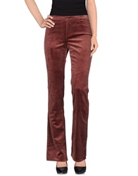 Angelo Marani Casual Pants Brick Red