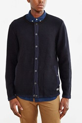 Cpo Norwich Snap Front Sweater Navy