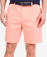 Nautica Flat Front Deck Shorts Pale Coral