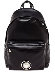 Versus Lion Plaque Backpack Black