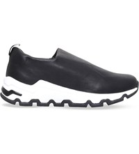 Opening Ceremony Zosma Stretch Leather Slip On Trainers Black