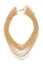 Forever 21 High Polish Layered Necklace