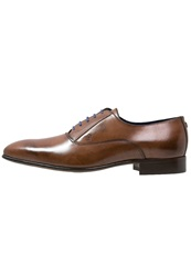 Azzaro Mars Smart Laceups Marron Brown
