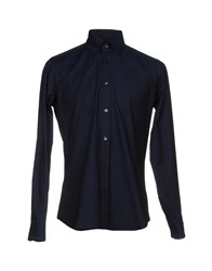 Caliban Shirts Dark Blue