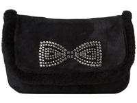 Ugg Allloway Crystal Bow Clutch Black Clutch Handbags