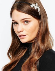 Orelia Scattered Star Headband Gold