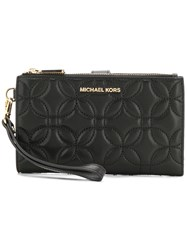 Michael Michael Kors Large Quilted Smartphone Wristlet Black