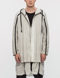 Thom Krom Long Woven Double Layer Parka