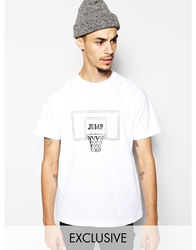 Reclaimed Vintage T Shirt With Basketball Hoop Print White