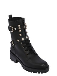 Red Valentino 40Mm Stars Studded Leather Boots