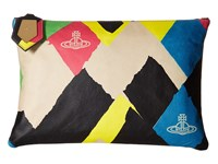 Vivienne Westwood Painted Argyle Pouch Multi Toiletries Case