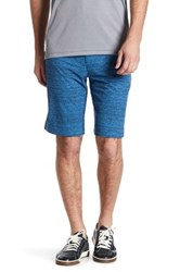 Travis Mathew Orme Striped Active Short Blue