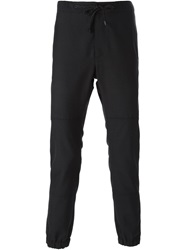 Marc Jacobs Drawstring Waist Track Trousers Black