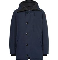 Canada Goose Chateau Shell Hooded Down Parka Blue
