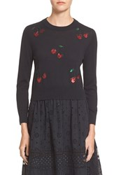 Marc By Marc Jacobs Women's Marc Jacobs Sequin Merino Wool Blend Sweater