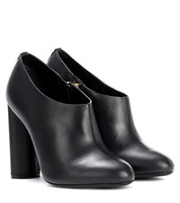Tom Ford Leather Ankle Boots Black