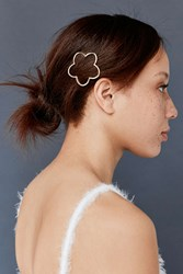 Urban Outfitters Floral Margot Hair Pin Gold