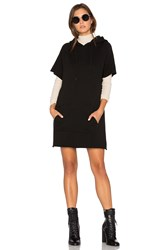 Cotton Citizen Milan Cut Off Dress Black