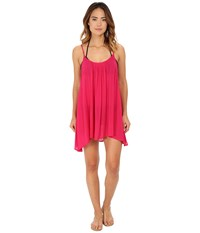 Roxy Sweet Vida Dress Cover Up Cherry Women's Swimwear Red