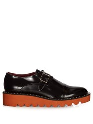 Stella Mccartney Odette Faux Leather Monk Strap Shoes Black