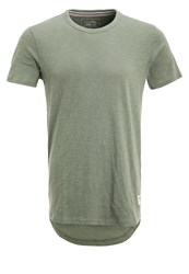 Tom Tailor Denim Basic Tshirt Sea Spray Khaki
