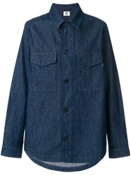 Paul Smith Ps By Denim Shirt Jacket Blue