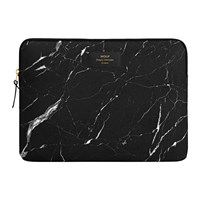 Wouf Marble Laptop Case Black