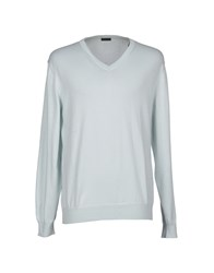 Piombo Knitwear Jumpers Men Sky Blue