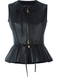 Dsquared2 Peplum Gilet Black