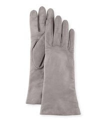 Portolano Napa Leather Gloves Hematite