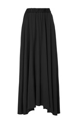 Co Black High Waist Maxi Skirt