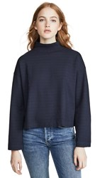 Stateside Long Sleeve Top Navy