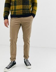 Ted Baker Slim Fit Chino In Tan
