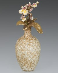 Orchid Branch Perfume Bottle Jay Strongwater