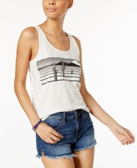 Volcom Juniors' Catch The Sun Graphic Tank Top Natural