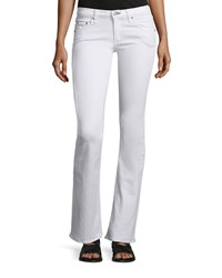 Rag And Bone Rag And Bone Jean Low Rise Boot Cut Jeans Bright White Size 25