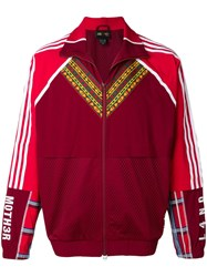 Adidas By Pharrell Williams Zip Front Track Jacket Red